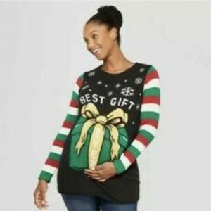 Isabel Maternity Christmas Sweater